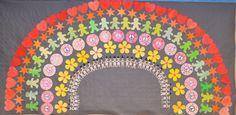 Arcoíris Día de la Paz (Peace rainbow)