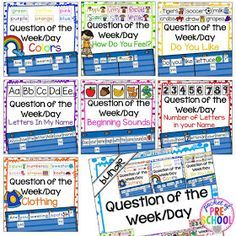 Pocket of Preschool: Question of the Day