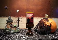 Red Hook Out of Your Gourd Pumpkin Porter. Get in the Halloween spirit and burn this unique candle! Pumpkin pie spice is a great scent! Shock Top Pumpkin Wheat Beer Bottle Candle Perfect for halloween!! $12.00 #halloween #candles #diy #pumpkin