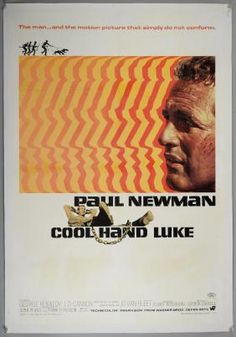 Lot: Cool Hand Luke (1967) US One sheet film poster,, Lot Number: 2031, Starting Bid: £75, Auctioneer: Ewbank's, Auction: Vintage Posters, Date: March 3rd, 2017 EST