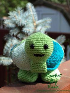 CrochetByKarin: What Do Crochet Turtles Do All Day?