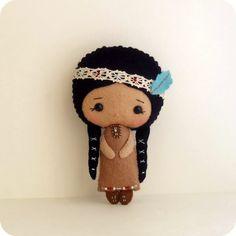 Native American Girl doll