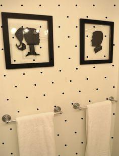 1000 Ideas About Polka Dot Bathroom On Pinterest Polka Dot Room Polka Dot Chair And Bathroom