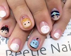 Nail Art - Beetle Nail : 八幡|ツムツム アラジン  #ネイル #ビートル近江八幡 #ビートルネイル #ネイル近江八幡 #ツムツムネイル #アラジンネイル #Disney