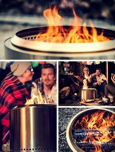 Something makes this fire pit different from anything else you've ever seen. (hint: no smoke in your face!)