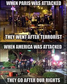 The Government is failing to protect it's citizens, and taking away our rights all in the name of Islam.... What the hell is going on? Obama has an agenda and no one is stopping him, and killary is prepared to continue this agenda without missing a beat... WAKE UP!!!?