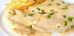 Receta de Pechuga de pollo al queso