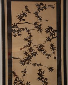 Japanese Katagami Maple Leaves