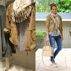 Scarf too chunky, I would go lighter-The Versatile Anorak