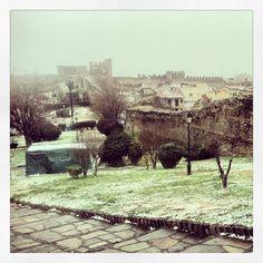 Eptapyrgio with snow. (Walking Thessaloniki, Route 08 - Seven Towers) Acropolis, Thessaloniki, Towers, Walking, Snow, Instagram, Tours, Tower, Walks
