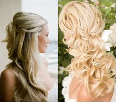 Long, Flowing Locks for Your Big Day so pretty.... http://trendyeventrentals.com/Welcome.php