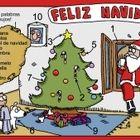 Very useful for a cool Spanish Christmas lesson. It teaches vocabulary such as: árbol de navidad, regalos, niño, caramelos, estrella,... The zip fi...