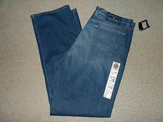 NEW Lucky Brand Dungarees Mens Jeans Size 38 Long Dark 38 x 34 Boot Cut Relaxed