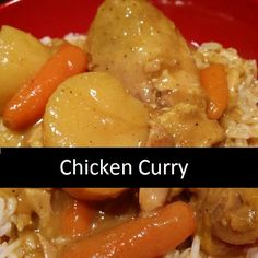 It's easy to make homemade curry with carrots and potatoes. The coconut milk makes the sauce thick and creamy, with a hint of coconut. Serve over white steamed rice. Kale Soup Recipes, Curry Recipes, Chicken Recipes, Guam Recipes, Gourmet Recipes, Healthy Recipes, Fish Recipes, Chamorro Recipes, Chamorro Food