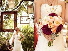 wedding colors purple and blush   WEDDING COLORS! Blush/peach, sage green, wine purple!   Weddings