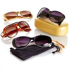 Joy Mangano SHADES Bifocal Sunglasses 9-piece Anniversary Set at HSN.com.