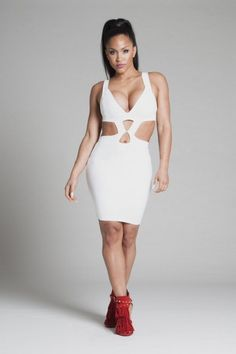 NEW SEXY WOMEN DEEP V HOLLOW OUT CLUBWEAR EVENING SIAMESE JUMPSUIT DRESS  Club Party Dresses 7f91eedf1