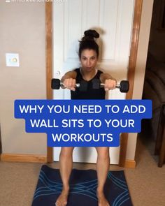 Gym Workout For Beginners, Gym Workout Videos, Tabata Workouts, Running Workouts, Wall Workout, Full Body Hiit Workout, Fitness Workout For Women, Extreme Workouts, Shoulder Workout
