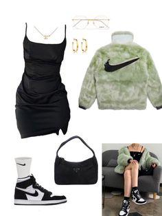 Baddie Outfits Casual, Cute Swag Outfits, Kpop Outfits, Teen Fashion Outfits, Mode Outfits, Retro Outfits, Stylish Outfits, Teenager Outfits, Polyvore Outfits