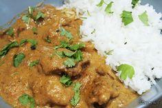Maślane curry z udkami kurczaka