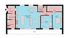 Nový dům zvládli postavit bez hypotéky. Podělili se s námi o zkušenost Floor Plans, Home, Ad Home, Homes, Haus, Floor Plan Drawing, House Floor Plans, Houses