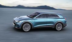 Audi e-Tron Quattro Concept op IAA: 500km actieradius