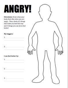 New Product :: Dealing with Anger Activity Pack | One-Stop Counseling Shop
