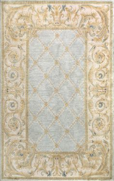 Bashian Chantilly 1870 Light Blue Area Rug Chinese Rugs Family