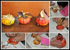 Halloween-crafts-pumpkin craft