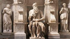 El Moises de Miguel Ángel, en la Basílica de San Pedro in Vincoli, Roma
