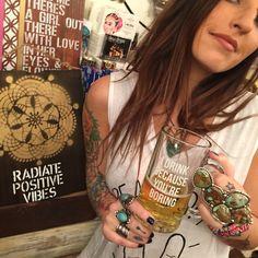 Jac Vanek ⚡️I drink bc your boring beer stein  www.wildflowerli.com