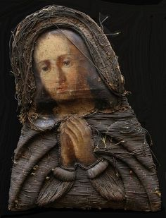 Скорбящая Богородица, 18 в.