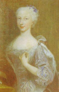 2- Anna Teresa di Savoia, v. 1781: mère de Victoire de Rohan. Auteur inconnu, United States - § MME DE GUEMENE: Elle est la gouvernante des enfants royaux de Louis XVI de 1778 à 1782 et de la future duchesse de Fleury (Amiée de Franquetot de Coigny). En 1761, elle prend pour époux son cousin Henri-Louis-Marie de Rohan (1745-1809), grand chambellan de France et neveu du cardinal de Rohan impliqué et victime dans l'affaire du collier de la reine en 1785.