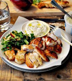 Crispy Lemon Chicken by thingsforboys: 4 ingredients, kid friendly! #Chicken #Lemon