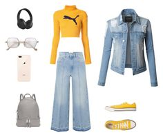 """""""Untitled #14"""" by anastasiatotokotsi on Polyvore featuring Étoile Isabel Marant, Puma, Converse, Michael Kors, LE3NO and Beats by Dr. Dre"""