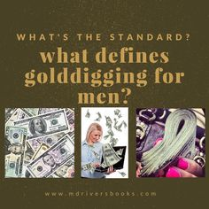 Explains the difference between golddigging, and wanting someone with value…