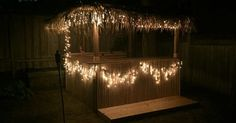 I never knew I wanted a backyard tiki bar so badly.