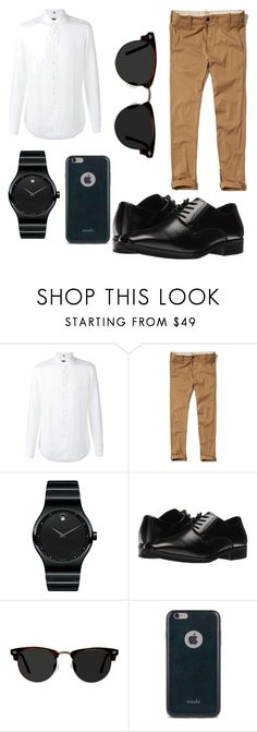 """untitled"" by celineabrillyan on Polyvore featuring FAY, Hollister Co., Movado, Stacy Adams, Ace, Moshi, men's fashion and menswear"