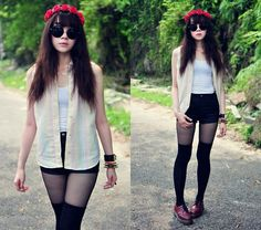 Hear the sound (by Tess Lively) http://lookbook.nu/look/3890930-hear-the-sound