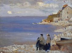 Charles Conder - Swanage, 1901, oil on canvas