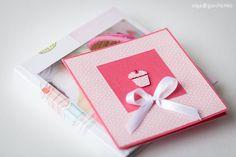 Минибук и конверт для диска для новорожденной Машеньки: Serenkaja's Design
