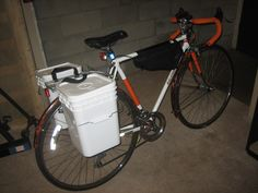 Bicycle Pannier do it yourself kit build your own bike bucket pannier!