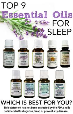 9 Essential Oils for Insomnia