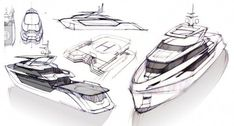 Greywolf, explorer yacht by Politecnico di Milano Specializing Master Yacht Design, Boat Design, Design Cars, Design Logo, Design Poster, Ship Sketch, Boat Sketch, Yatch Boat, Explorer Yacht