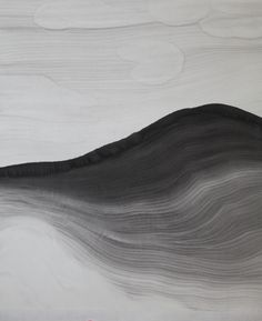 Zhang Zhaohui | Cloudy Mountain No. 1, 2012 | Ink on rice paper