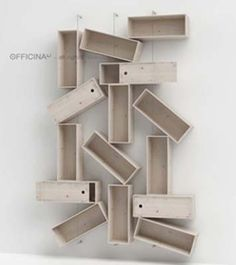 Creative bookshelves bookcases and modern bookcase on pinterest - Creative storage solutions for small spaces plan ...