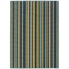 You'll love the Brendel Blue/Brown Striped Indoor/Outdoor Area Rug at Wayfair - Great Deals on all Rugs products with Free Shipping on most stuff, even the big stuff.