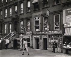 Lenox Avenue in Harlem, New York