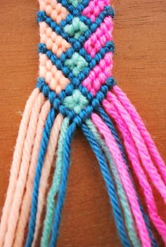Hey Wanderer: the diy: crazy complicated friendship bracelet