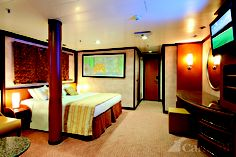 Carnival Inspiration - Grand Suite....this was our cabin on our first cruise to Cozumel 2011. Loved it!